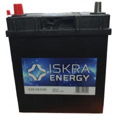 Аккумулятор ISKRA ENERGY Asia  35 Ач, 300 А (535119030), прямая полярность ²