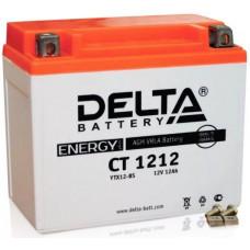 Аккумулятор DELTA CT 12В 12 Ач, 180 А (CT 1212), прямая полярность ⁶