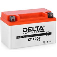Аккумулятор DELTA CT 12В 7 Ач, 105 А (CT 1207), прямая полярность ⁶