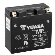 Аккумулятор GS YUASA  12В 12 Ач, 210 А (YT14B-BS, 14-B4), прямая полярность ⁶