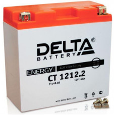 Аккумулятор DELTA CT 12В 14 Ач, 155 А (CT 1212.2), прямая полярность ⁶