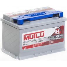 Аккумулятор MUTLU SERIE 3 75 Ач, 720 А (LB3.75.072.A), низкий, обратная полярность ¹