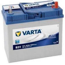 Аккумулятор VARTA Asia Blue Dynamic 45 Ач, 330 А (B31), обратная полярность, тонкие клеммы ¹