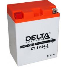 Аккумулятор DELTA CT 12В 14 Ач, 165 А (CT 1214.1), прямая полярность ⁶