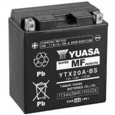 Аккумулятор GS YUASA YTX20A-BS 12В 17 Ач, 270 А (YTX20A-BS), прямая полярность ⁶