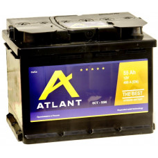 Аккумулятор ATLANT  55 Ач, 460 А, прямая полярность ¹