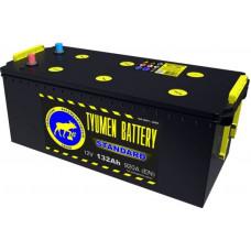 Аккумулятор TYUMEN BATTERY (ТЮМЕНЬ) STANDARD 132 Ач, 920 А Ca/Ca, европейская полярность, конусные клеммы ¹