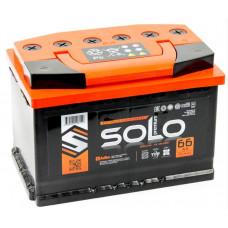 Аккумулятор SOLO PREMIUM 66 Ач, 650 А, прямая полярность ²