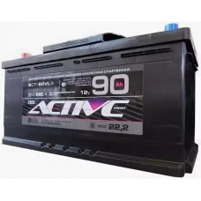 Аккумулятор ACTIVE FROST  90 Ач, 680 А, обратная полярность ²