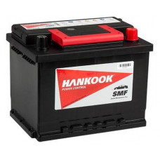 Аккумулятор HANKOOK Asia  52 Ач, 480 А (65B24L), обратная полярность, тонкие клеммы ²