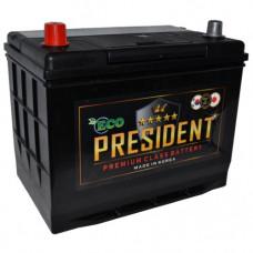 Аккумулятор ECO PRESIDENT  74 Ач, 710 А (57413), прямая полярность, АКЦИЯ ¹