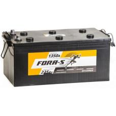 Аккумулятор FORA-S  225 Ач, 1350 А, европейская полярность, конусные клеммы ²