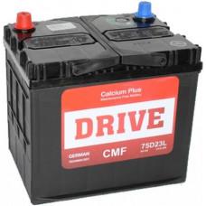 Аккумулятор DRIVE Asia  65 Ач, 460 А (75D23R), прямая полярность, нижний борт, АКЦИЯ ¹