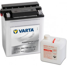 Аккумулятор VARTA POWERSPORTS FP 12В 14 Ач, 190 А (514011014), обратная полярность ²