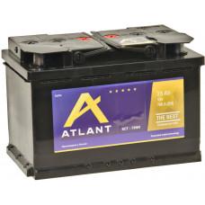 Аккумулятор ATLANT  75 Ач, 700 А, обратная полярность ¹