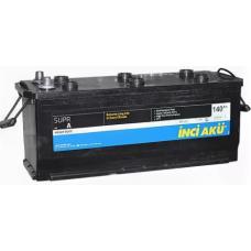 Аккумулятор INCI AKU SuprA Heavy Duty 140 Ач, 930 А, европейская полярность, конусные клеммы ¹