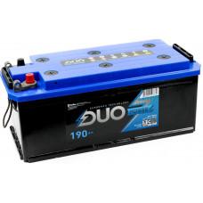 Аккумулятор DUO POWER  TT  190 Ач, 1350 А, европейская полярность, униклеммы ²