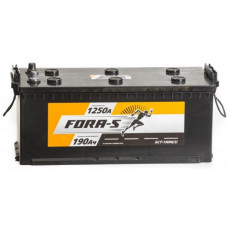 Аккумулятор FORA-S  190 Ач, 1100 А, европейская полярность, узкий, конусные клеммы ²