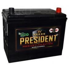 Аккумулятор ECO PRESIDENT Asia  50 Ач, 430 А (60B24RS), прямая полярность, толстые клеммы ¹