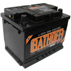 Аккумулятор BATHOFF MAX 60 Ач, 540 А, прямая полярность ¹