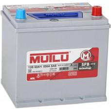 Аккумулятор MUTLU Asia SFB M2 60 Ач, 520 А (55D23FL), обратная полярность, нижний борт ²