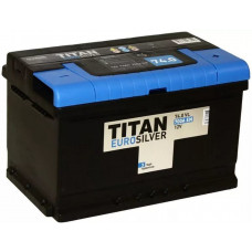 Аккумулятор TITAN Euro Silver 74 Ач, 700 А, низкий, обратная полярность ⁵