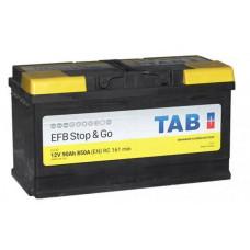 Аккумулятор TAB Stop&Go 90 Ач, 850 А EFB, Start-Stop, обратная полярность ²