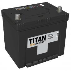Аккумулятор TITAN Asia Standart 62 Ач, 550 А, обратная полярность, нижний борт ⁵