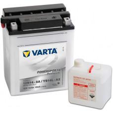 Аккумулятор VARTA POWERSPORTS FP 12В 14 Ач, 190 А (514012014), прямая полярность ²