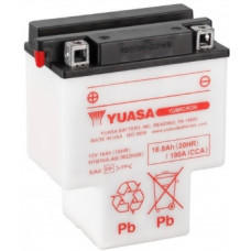 Аккумулятор GS YUASA  12В 16 Ач (HYB16A-AB), прямая полярность ⁶