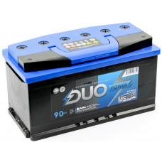 Аккумулятор DUO POWER  90 Ач, 850 А, обратная полярность ²