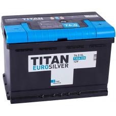 Аккумулятор TITAN Euro Silver 76 Ач, 730 А, прямая полярность ⁵