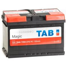 Аккумулятор TAB MAGIC 78 Ач, 720 А, обратная полярность ²