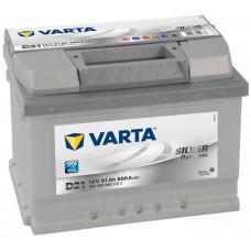 Аккумулятор VARTA Silver Dynamic 61 Ач, 600 А (D21), низкий, обратная полярность ²