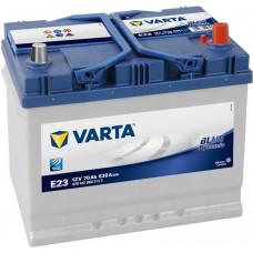 Аккумулятор VARTA Asia Blue Dynamic 70 Ач, 630 А (E23 ), обратная полярность, нижний борт ¹