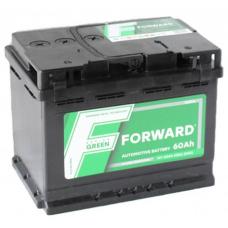 Аккумулятор FORWARD Green 60 Ач, 530 А, прямая полярность ¹
