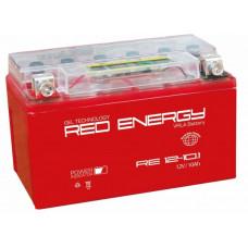 Аккумулятор RED ENERGY RE 12В 10 Ач, 190 А (RE 1210.1) GEL ⁶