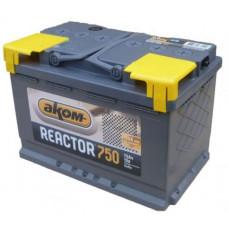 Аккумулятор REACTOR  75 Ач, 750 А, прямая полярность ⁵