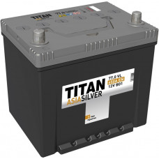 Аккумулятор TITAN Asia SILVER 77 Ач, 650 А, обратная полярность, нижний борт ⁵