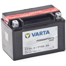 Аккумулятор VARTA POWERSPORTS 12В 8 Ач, 135 А (508012008) AGM, прямая полярность ²