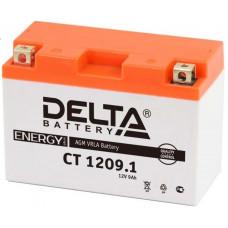 Аккумулятор DELTA CT 12В 9 Ач, 115 А (CT 1209.1), прямая полярность ⁶