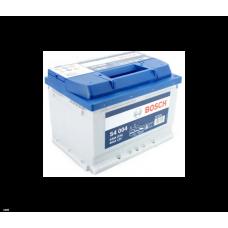 Аккумулятор BOSCH S4 Silver 60 Ач, 540 А (560409), низкий, обратная полярность ¹
