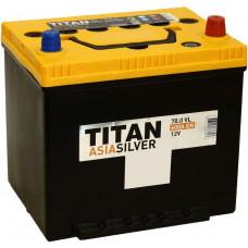 Аккумулятор TITAN Asia SILVER 70 Ач, 600 А, обратная полярность, нижний борт ⁵