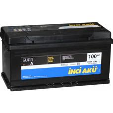 Аккумулятор INCI AKU SuprA 100 Ач, 860 А, низкий, обратная полярность ¹
