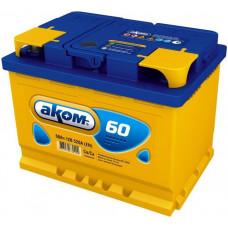 Аккумулятор АКОМ  60 Ач, 520 А, прямая полярность ¹