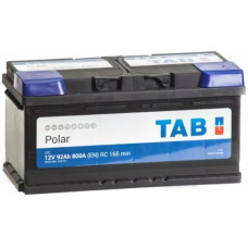 Аккумулятор TAB Polar 92 Ач, 800 А (59220), низкий, обратная полярность ²