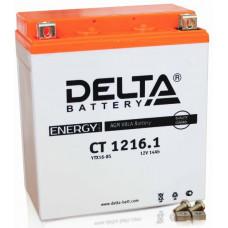 Аккумулятор DELTA CT 12В 16 Ач, 230 А (CT 1216.1), прямая полярность ⁶