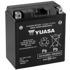 Аккумулятор GS YUASA  12В 18 Ач, 270 А (YTX20CH-BS), прямая полярность ⁶