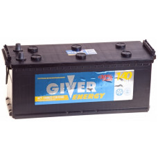 Аккумулятор GIVER ENERGY 140 Ач, 930 А, европейская полярность, конусные клеммы ²