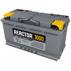 Аккумулятор REACTOR  100 Ач, 1000 А, прямая полярность ⁵